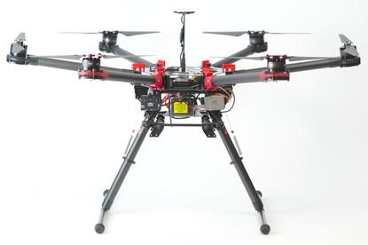 Квадрокоптер для расселения(внесения) трихограммы на базе DJI S 900