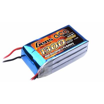 Аккумулятор Gens Ace Li-PO 11,1 В 1300 мАч 25C