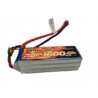 Аккумулятор Gens Ace Li-PO 11,1 В 1600 мАч 40C