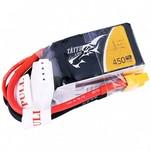Аккумулятор Tattu LiPO 11,1 В 450 мАч 3S 75C