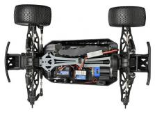 Автомобиль HPI Maverick STRADA XT EVO 4WD EL Truggy 1:10 (Blue RTR Version)-фото 2
