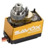 Сервопривод цифровой Savox 0,8-1,2 кг/см 4,8-6 В 0,08-0,06 сек/60° 13,6 г