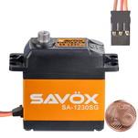 Сервопривод цифровой Savox 30-36 кг/см 4,8-6 В 0,2-0,16 сек/60° 79 г