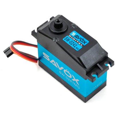 Сервопривод цифровой Savox HV 30-40 кг/см 6-7,4 В 0,21-0,17 сек/60° 200 г