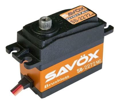 Сервопривод цифровой Savox HV 5-7 кг/см 6-7,4 В 0,045-0,032 сек/60° 66 г