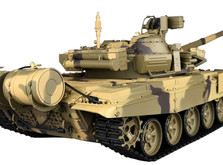 Танк на радиоуправлении 1:16 Heng Long Т-90 с пневмопушкой, металлическими гусеницами и дым-машиной-фото 1