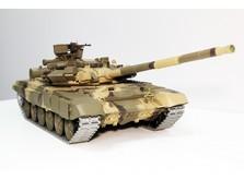 Танк на радиоуправлении 1:16 Heng Long Т-90 с пневмопушкой, металлическими гусеницами и дым-машиной-фото 5