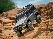Монстр на радиоуправлении Traxxas TRX-4 Land Rover Defender 1:10 RTR-фото 4