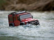 Монстр на радиоуправлении Traxxas TRX-4 Land Rover Defender 1:10 RTR-фото 5