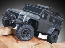 Монстр на радиоуправлении Traxxas TRX-4 Land Rover Defender 1:10 RTR-фото 1