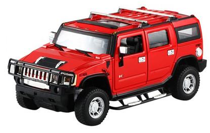 Машинка на радиоуправлении 1:24 Meizhi Hummer H2