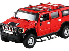 Машинка на радиоуправлении 1:24 Meizhi Hummer H2-фото 3