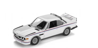 Модель автомобиля BMW 3.0 CSL в масштабе 1:18 историческая коллекция