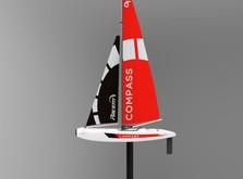 Радиоуправляемая яхта Compass 650 мм RTR-фото 1