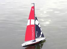 Радиоуправляемая яхта Compass 650 мм RTR-фото 2