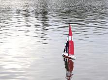 Радиоуправляемая яхта Compass 650 мм RTR-фото 3