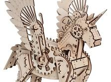 Деревянный конструктор Единорог-фото 1
