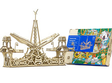 Деревянный конструктор Пешеходный Мост-фото 1