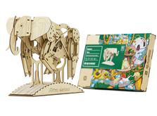 Деревянный конструктор Слон-фото 1