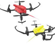 Бой квадрокоптеров на радиоуправлении Wowitoys Battle Drone