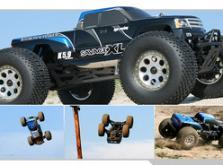 Автомобиль HPI Savage XL 5.9 Nitro Gigante 4WD 1:8 2.4GHz (Blue RTR Version)-фото 5