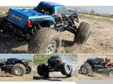 Автомобиль HPI Savage XL 5.9 Nitro Gigante 4WD 1:8 2.4GHz (Blue RTR Version)-фото 6