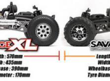 Автомобиль HPI Savage XL 5.9 Nitro Gigante 4WD 1:8 2.4GHz (Blue RTR Version)-фото 8