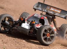 Автомобиль HPI Trophy 3.5 Nitro Buggy 4WD 1:8 2.4GHz (RTR Version)-фото 3