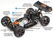 Автомобиль HPI Trophy 3.5 Nitro Buggy 4WD 1:8 2.4GHz (RTR Version)-фото 4