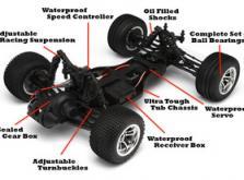 Автомобиль HPI E-Firestorm 10T DSX-2 2WD 1:10 EP 2.4GHz (RTR Version)-фото 5