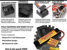 Автомобиль HPI E-Firestorm 10T DSX-2 2WD 1:10 EP 2.4GHz (RTR Version)-фото 7