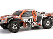 Автомобиль HPI Blitz Scorpion 2WD 1:10 EP 2.4GHz (Black/Orange RTR Version)-фото 9