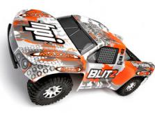 Автомобиль HPI Blitz Scorpion 2WD 1:10 EP 2.4GHz (Black/Orange RTR Version)-фото 3