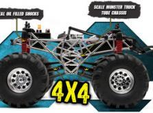 Автомобиль HPI Wheely King Bounty Hunter 4WD 1:12 EP (RTR Version)-фото 5