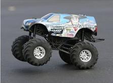 Автомобиль HPI Wheely King Bounty Hunter 4WD 1:12 EP (RTR Version)-фото 8