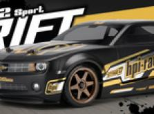 Автомобиль HPI Sprint 2 Drift 2010 Chevrolet Camaro 4WD 1:10 EP 2.4 GHz (RTR Version)-фото 6