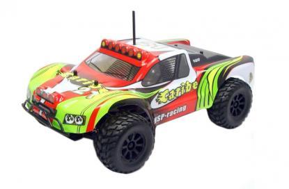 Автомобиль HSP Caribe Short Course Truck 4WD 1:18 EP (Red RTR Version)