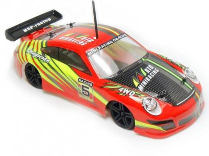 Автомобиль HSP Magician Touring Car 4WD 1:18 EP (Red RTR Version)