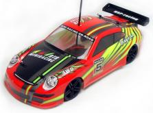 Автомобиль HSP Magician Touring Car 4WD 1:18 EP (Red RTR Version)-фото 1