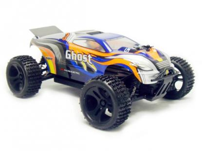 Автомобиль HSP Ghost Truggy 4WD 1:18 EP (Blue RTR Version)