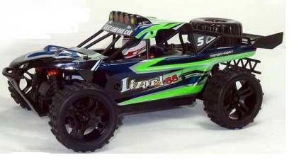 Автомобиль HSP Lizard BB Dune Buggy 4WD 1:18 EP (Green RTR Version)