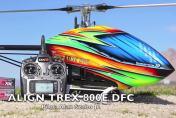 Полет большого пилотажного вертолета Align 800-E DFC класса.