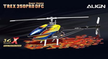 Вертолет Align T-REX 250 PRO DFC Super Combo RC (KIT Version)