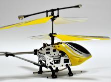 Вертолет Микроша Falcon-X 3CH IR с гироскопом (Metal RTF Version)-фото 4
