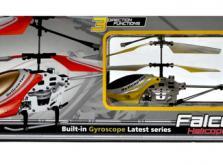 Вертолет Микроша Falcon-X 3CH IR с гироскопом (Metal RTF Version)-фото 3
