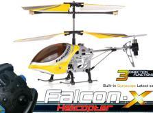 Вертолет Микроша Falcon-X 3CH IR с гироскопом (Metal RTF Version)-фото 8