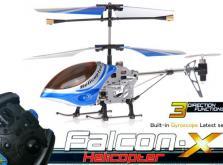 Вертолет Микроша Falcon-X 3CH IR с гироскопом (Metal RTF Version)-фото 5
