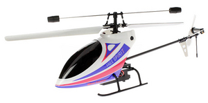 Вертолет Nine Eagles Free Spirit 2.4 GHz (White-Blue RTF Version)