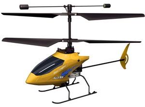 Вертолет Nine Eagles Flash 2.4 GHz в кейсе (Yellow RTF Version)
