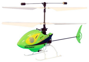 Вертолет Nine Eagles Free Spirit Micro 2.4 GHz в кейсе (Green RTF Version)